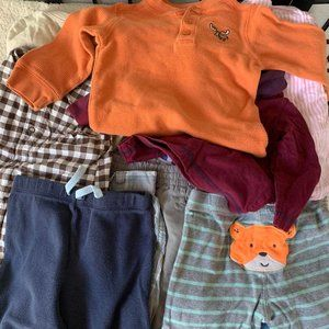 Baby Boys Tops and Bottoms 18 Months
